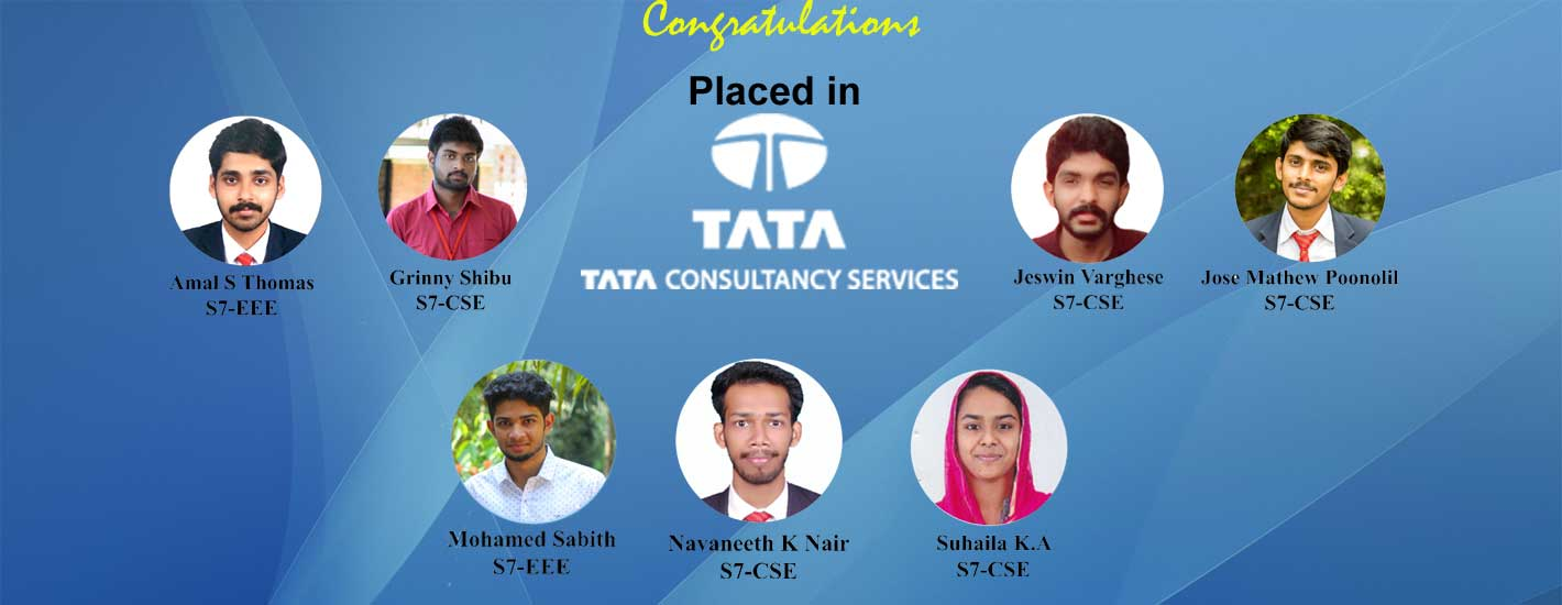 7 of our students got placed in TCS