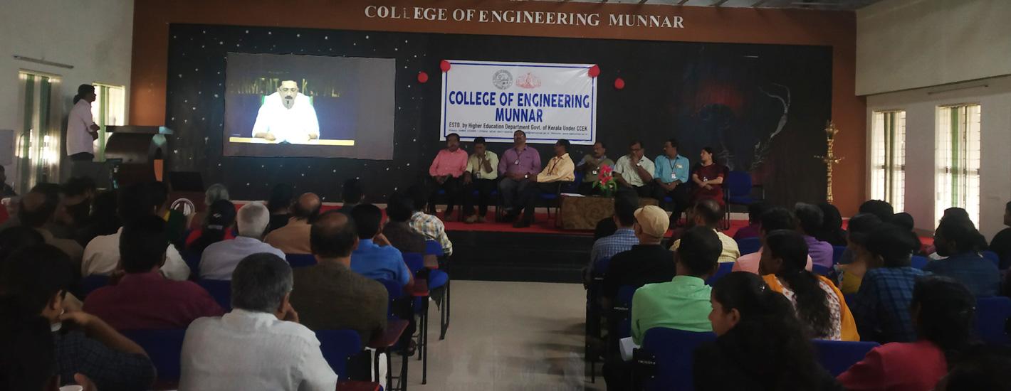 Minister for Higher Education addressing freshers
